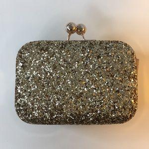 Gold Glitter Clutch/Purse